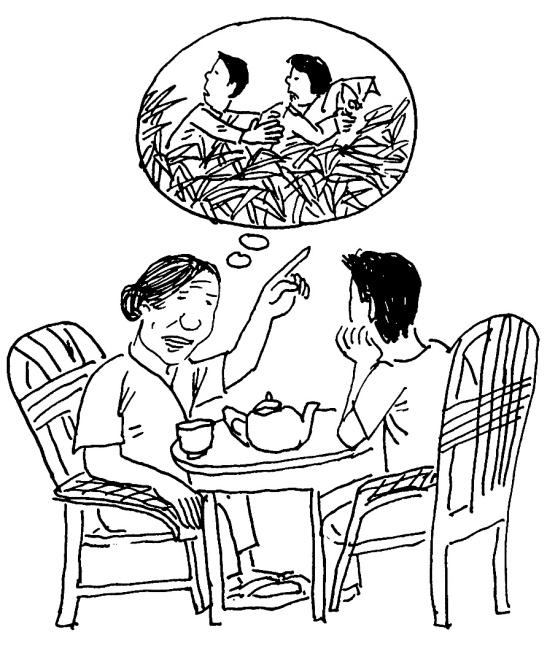 听妈妈讲那过去的事情:我们都是吃过日本佬苦头,好心人搭救才逃过