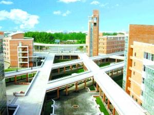 学院学科专业设置以工学为主,兼有管理学,文学,法学和农学.图片