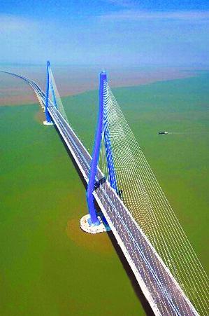舟山跨海大桥.   cfp供图图片