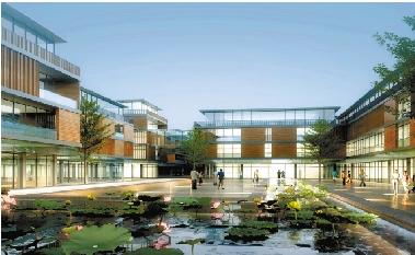 整合与融通——温州市大学科技园规划(瓯海开发区旧厂房改造)图片