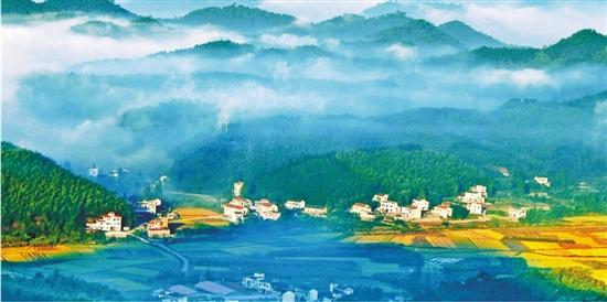 中国美丽乡村安吉 曹震图片